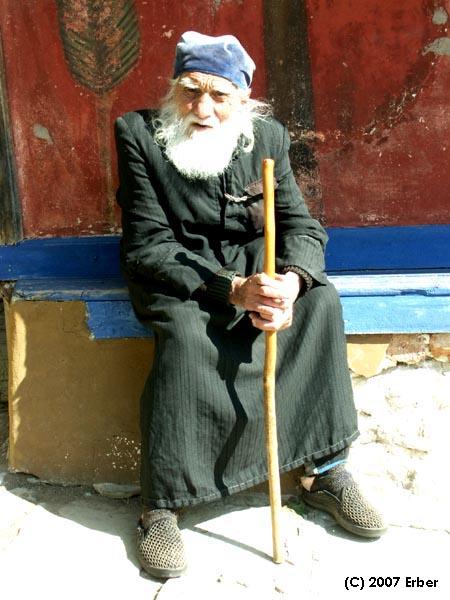 Greis aus Bulgarien