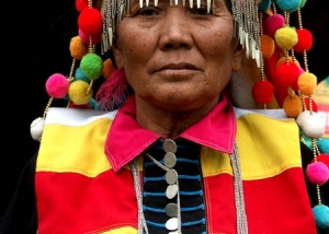 Frau aus Burma