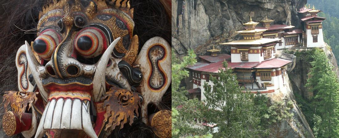 Kloster und Maske